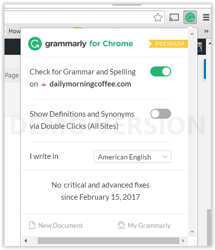 grammarly-chrome-extension